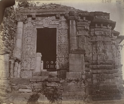 Entrance to the Shringara Chauri Temple, Chittaurgarh [Chitorgarh]